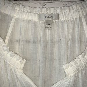 J. Crew Swim - J Crew white cotton cover up